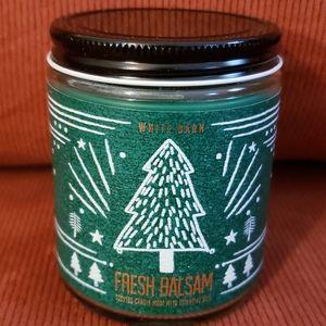 🌲Bath & Bodyworks Fresh Balsam Single Wick Candle